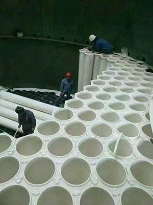管束式除尘器安装现场